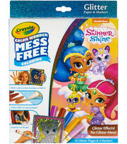 Crayola Color Wonder Glitter Set-Shimmer & Shine, , hi-res