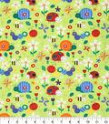 Novelty Cotton Fabric 43\u0022-Bugs