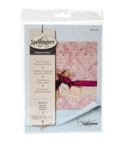 Spellbinders® Donna Salazar Large Embossing Folder-Medallion, , hi-res