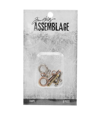 Tim Holtz® Assemblage Pack of 6 Small Toggles Clasps