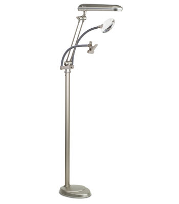 24w 3-in-1 Craft Floor Lamp