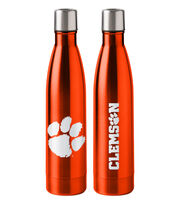 Clemson University Tigers 18 oz Insulated Stainless Steel Water Bottle, , hi-res