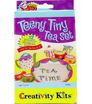 Creativity Kits-Teeny Tiny Tea Set, , hi-res