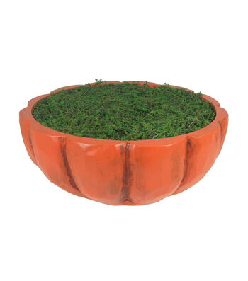 Fall Into Color Littles Pumpkin Container-Orange & Green