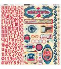Bo Bunny Modern Miss Combo Stickers