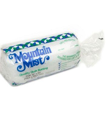 "Mountain Mist Polyester Quilt Batting-Crib Size 45""X60"""