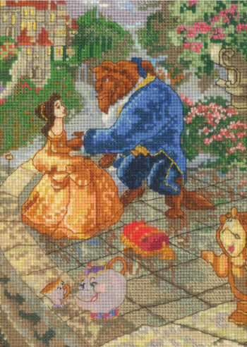 "Disney® Dreams Collection By Thomas Kinkade Beauty&Beast-5""X7"" 16 Count"