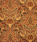 Home Decor 8\u0022x8\u0022 Fabric Swatch-Upholstery Fabric Barrow M8569-5780 Pimento