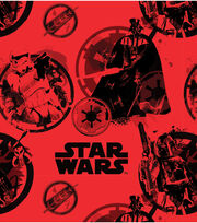 "Star Wars™ Fleece Fabric 58""-Danger, , hi-res"