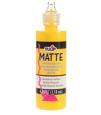 Tulip Dimensional Fabric Paint 4oz - Matte