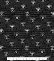 "Oakland Raiders Cotton Fabric 58""-Mini Print, , hi-res"