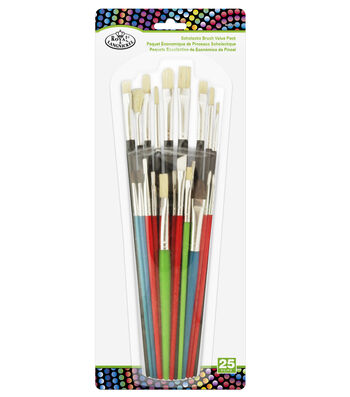 Royal & Langnickel® Schoolastic Brush Value Pack 25pk