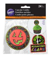Wilton Cupcake Combo Pack 24/Pkg-Jack & Ghoul, , hi-res