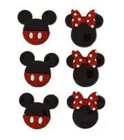 Dress It Up Licensed Embellishments- Disney® Mickey & Minnie, , hi-res