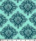 Buttercream™ Stella Collection Cotton Fabric-Intricate Damask