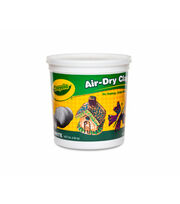 Crayola Air-Dry Clay 5lb-White, , hi-res