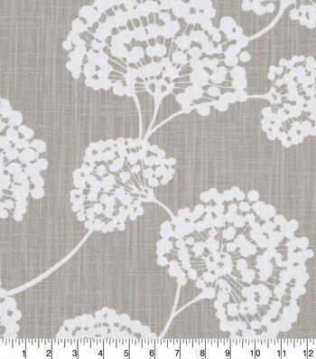 Robert Allen @ Home Upholstery Fabric 55''-Light Gray Toile Stems