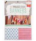 DCWV 6\u0022x8\u0022 DIY Project Stack Banners: Printed Paper