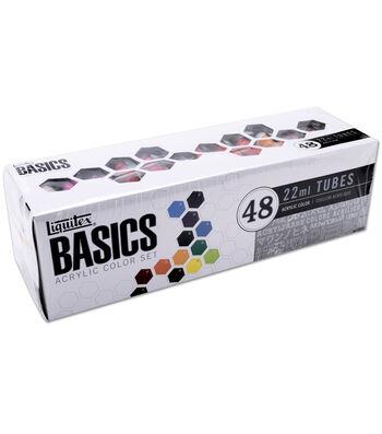 Liquitex Basics Acrylic Paint-48 Colors