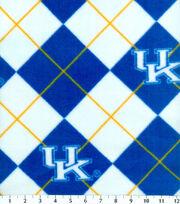 "University of Kentucky Wildcats Fleece Fabric 58""-Argyle, , hi-res"