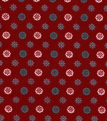 """3 Yard Pre-Cut Snuggle Flannel Fabric 42""""-Joy Trellis Geo"""