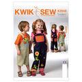 Kwik Sew Pattern K3948 Children\u0027s Casual Outfits