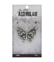 Tim Holtz® Assemblage 2''x1.5'' Butterfly Pendant, , hi-res