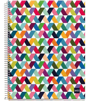 """Spiral-Bound Ruled Notebook 8.5""""X11""""-Origami Light"""
