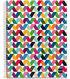 Spiral-Bound Ruled Notebook 8.5\u0022X11\u0022-Origami Light