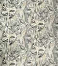 Home Decor 8\u0022x8\u0022 Fabric Swatch-Upholstery Fabric SMC Designs Madame Graphite