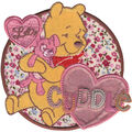 Disney® Winnie The Pooh® Let\u0027s Cuddle Iron On Applique
