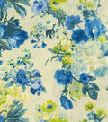 HGTV Home Upholstery Fabric-Garden Odyssey Azure