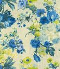 Home Decor 8\u0022x8\u0022 Fabric Swatch-HGTV HOME Garden Odyssey Azure