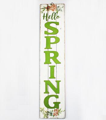 Hello Spring Vertical 3D Wall Decor-Hello Spring