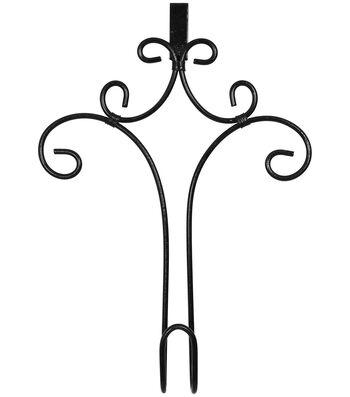 Iron Wreath Hanger 11''x16''