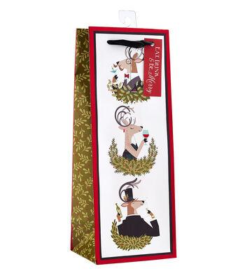 Maker's Holiday Fancy Deer Trio Spirit Bag