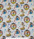DC Comics Wonder Woman Cotton Fabric 44\u0022-Toss Sketch