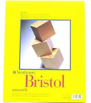 "Strathmore Vellum Bristol Paper Pad 11""X14""-20 Sheets, , hi-res"
