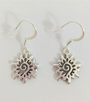 hildie & jo™ Suns Dangle Metal Silver Earrings, , hi-res