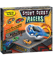 Creativity For Kids Stunt Derby Racers Kit, , hi-res