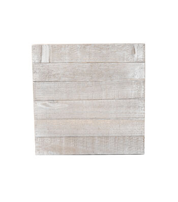 White Wood 12x12 Plank