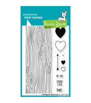 "Lawn Fawn Clear Stamps 4""X6""-Woodgrain Backdrops, , hi-res"