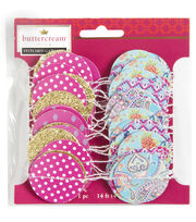 Buttercream™ Olivia Collection Stitched Mini Garland, , hi-res