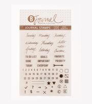 Teresa Collins™ B-Journal Pack of 73 Journal Stamps, , hi-res