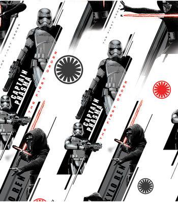 "Star Wars™: The Force Awakens Cotton Fabric 44""-Villians"