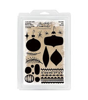 Tim Holtz Idea-ology Cling Foam Stamps-Christmas, , hi-res