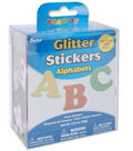 Darice Glitter Foam Stickers-Alphabet
