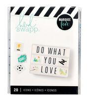 Heidi Swapp Marquee Love 20 pk Lightbox Inserts-Hobbies, , hi-res