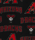 Arizona Diamondbacks Fleece Fabric 58\u0022-Logo