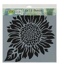 Crafter\u0027s Workshop Carmen Medlin 12\u0027\u0027x12\u0027\u0027 Stencil-Joyful Sunflower